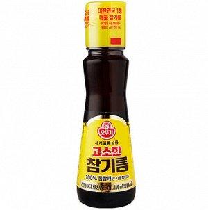 """Масло кунжутное нерафинированное """"Ottogi Sesame Oil"""" 110 мл"""