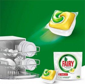 FAIRY All in 1 Средство для мытья посуды в капсулах для автоматических посудомоечных машин 48шт