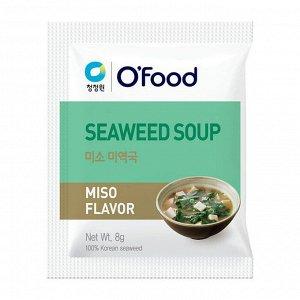 """Суп быстрого приготовления (морская капуста и паста мисо) """"Seaweed soup. Miso Flavor"""" 1 пакетик"""