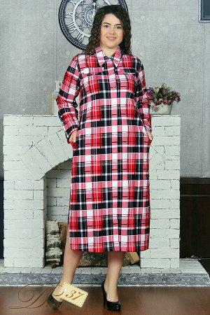 Платье «Каприз» красное