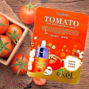 Ekel Tomato Ultra Hydrating Essense Mask Тканевая маска с экстрактом томата