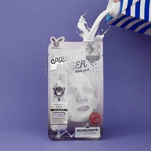 Elizavecca Milk Deep Power Ringer Mask Pack Тканевая маска молочная