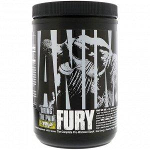Universal Nutrition. ANIMAL FURY. Lemonade. 489.9 g