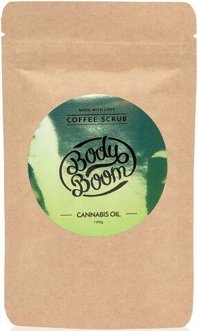 Кофейный скраб для тела Cannabis oil 100г