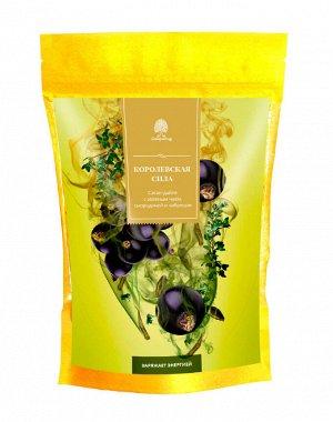Чайный напиток Королевская сила Саган-дайля с зеленым чаем, смородиной и чабрецом 50 гр.