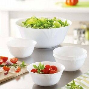 ЛЮБИМЫЕ БОКАЛЫ: Акция на посуду! Сладкий подарок за заказ!  — АКЦИЯ: ОПАЛОВОЕ СТЕКЛО ТАРЕЛОЧКИ/САЛАТНИКИ — Кухня