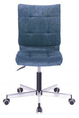 Кресло Бюрократ CH-330M/LT-27 без подлокотников темно-синий крестовина металл