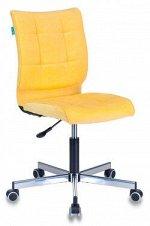 Кресло Бюрократ CH-330M/VELV74 желтый Velvet 74 крестовина металл