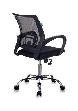 Кресло Бюрократ CH-695NSL черный TW-01 сиденье черный TW-11 крестовина металл хром