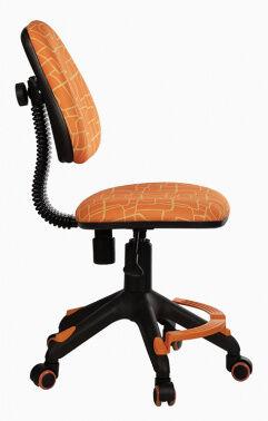 Кресло детское Бюрократ KD-4-F/GIRAFFE подставка для ног оранжевый жираф