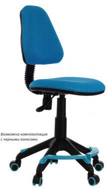 Кресло детское Бюрократ KD-4-F/TW-55 подставка для ног голубой TW-55