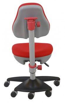 Кресло детское Бюрократ KD-2 красный TW-97N крестовина пластик