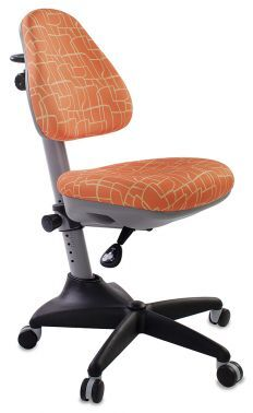 Кресло детское Бюрократ KD-2/G/GIRAFFE оранжевый жираф