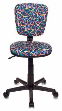 Кресло детское Бюрократ CH-204NX/PENCIL-BL синий карандаши