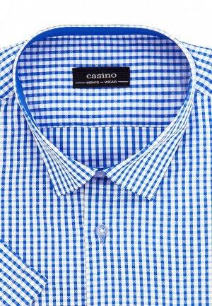 Сорочка мужская короткий рукав CASINO c125/05/134/Z/1