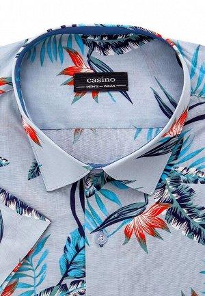 Сорочка мужская короткий рукав CASINO c323/05/5892/Z/C/1