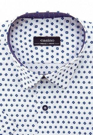 Сорочка мужская короткий рукав CASINO c123/05/6153/1