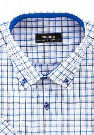 Сорочка мужская короткий рукав CASINO c125/0/451/Z/b/1