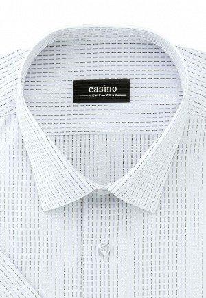 Сорочка мужская короткий рукав CASINO c123/057/8006/Z
