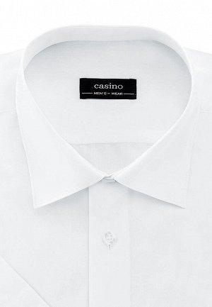Сорочка мужская короткий рукав CASINO c100/0/ice