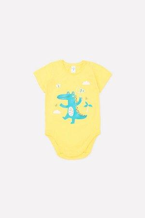 Полукомбинезон(Весна-Лето)+baby (сочный лимон(зоосад))