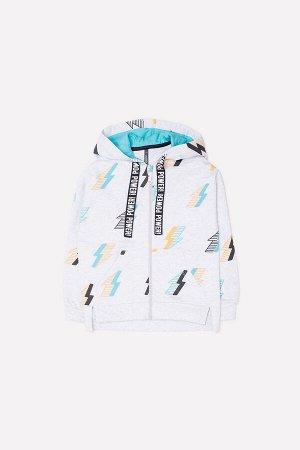 Куртка для мальчиков Crockid КР 300938 светло-серый меланж, молнии к252