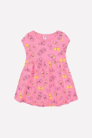 Платье(Весна-Лето)+girls (клубничное суфле, бабочки)