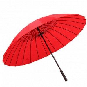 Зонт трость. Цвет красный.