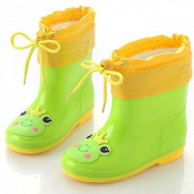 Детская одежда, обувь, аксессуары! Бельё для девочек — Резиновые сапоги. К сезону дождей готовы. — Сапоги
