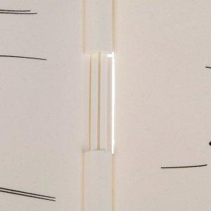 Ограждение декоративное, 30 ? 200 см, 10 секций, пластик, «Берёзовая роща»