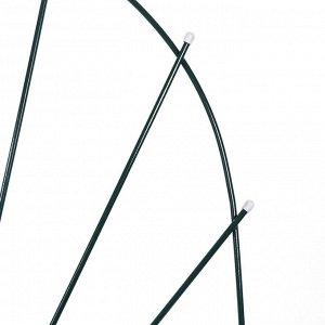 Шпалера, 150 ? 62 ? 1 см, металл, зелёная, «Парус мини»