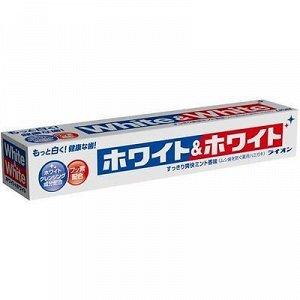"186403 ""Lion"" ""White & white"" з/паста с двойным отбеливающим эффектом  150 г. (в коробке) 1/80"