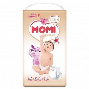 MOMI Premium подгузники-трусики L ( 9-14 кг), 44 шт. NEW