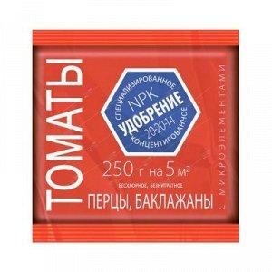 Минеральное удобрение ЛЕТТО для Томатов, Перцев, Баклажан с микроэлементами 0,25кг