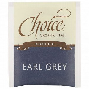 Choice Organic Teas, Black Tea, Organic Earl Grey, 16 Tea Bags, 1.12 oz (32 g)
