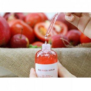 Сыворотка для лица с экстрактами красных овощей и фруктов  Graymelin Red Food Serum 50 мл. (СТЕКЛО), ,
