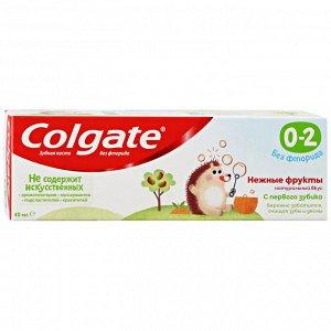NEW З.паста COLGATE 40мл д/детей 0-2 года Нежные фрукты