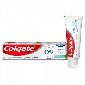 NEW З.паста COLGATE 130г 0% Мягкое очищение от кариеса