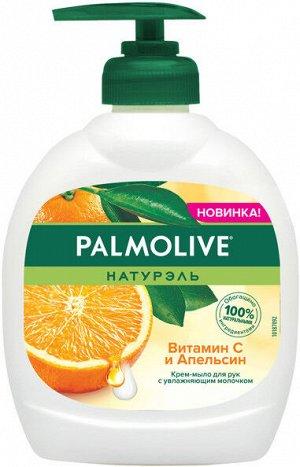 NEW Мыло жид. PALMOLIVE 300мл Витамин С-Апельсин