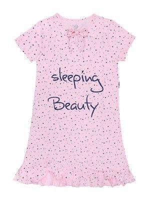 Ночная сорочка для девочки короткий рукав