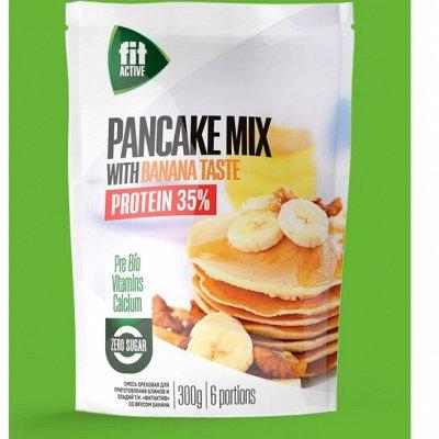 ФитПарад® - Больше удовольствия - меньше калорий! — Смеси для выпечки блинов и оладий.  — Диетические продукты