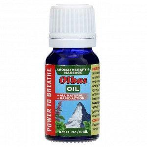 Olbas Therapeutic, Aromatherapy & Massage Oil, 0.32 fl oz (10 ml)