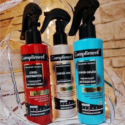 Уходовая косметика, которая такая же эффективная как Корея🔥 — Спреи выпрямитель, объем, термо укладка для волос — Для волос