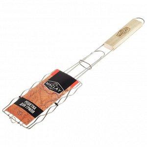 Решётка-гриль для сосисок Maclay, нержавеющая сталь, размер 17 ? 8,5 см