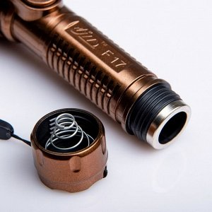 Фонарь ручной на шнурке, 1 LED, 1 режим, батарея 2 АА, микс, 4.5х14 см