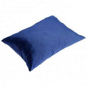 Сидушка-подушка мягкая, 40 х 23 х 13 см, цвет синий
