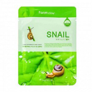 Farm Stay Visible Difference Mask Sheet Snail Восстанавливающая маска для лица с экстрактом улитки