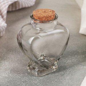 Емкость для специй «Парфе.Сердце», 150 мл, 8?4?9,5 см