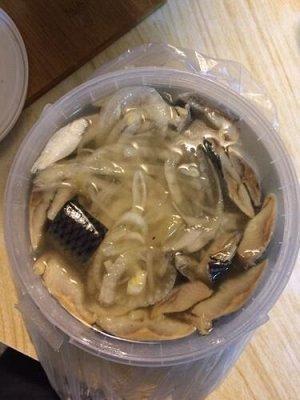 Сельдь ПО-ДОМАШНЕМУ 2.0кг(лук,перец черный,масло)