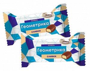 """""""Геометрика"""" со вкусом сливок конфеты, 100г"""